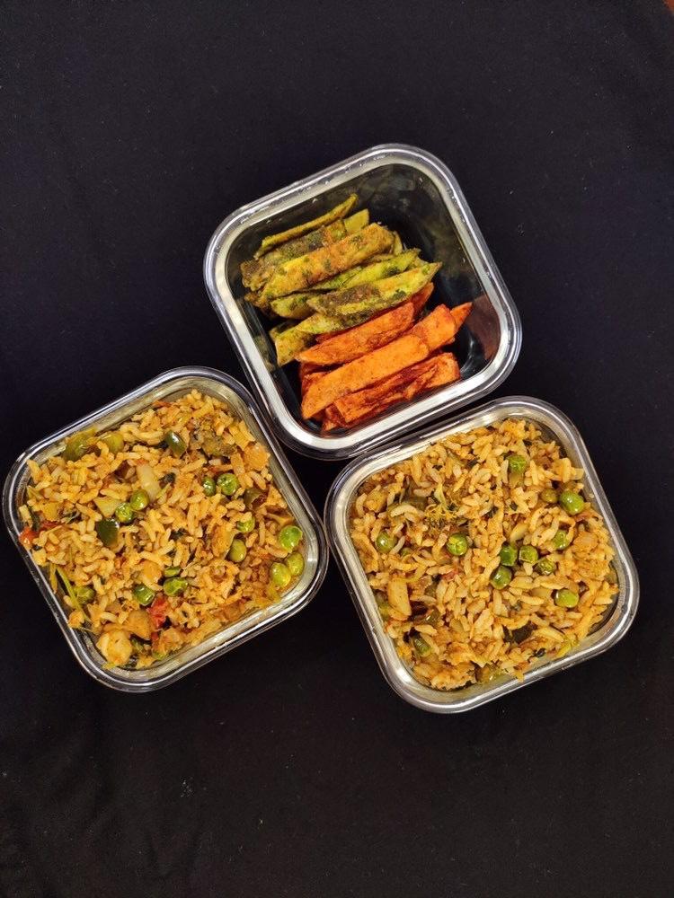 Broccoli Methi healthy Rice