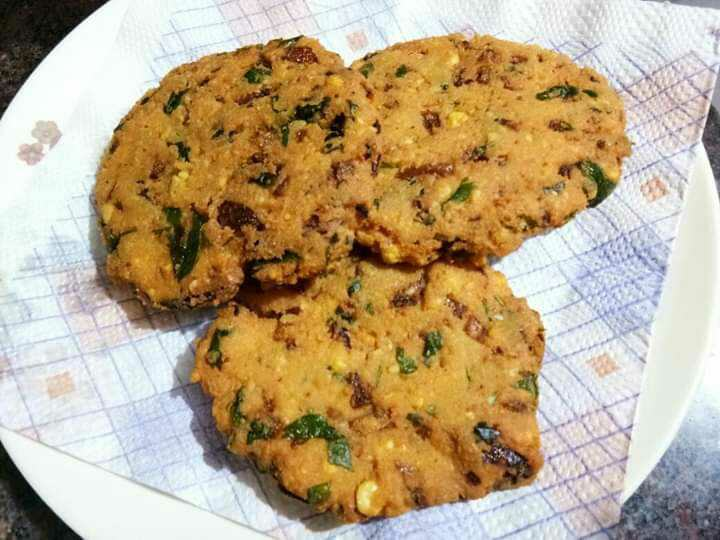 Spinach Dal Vada