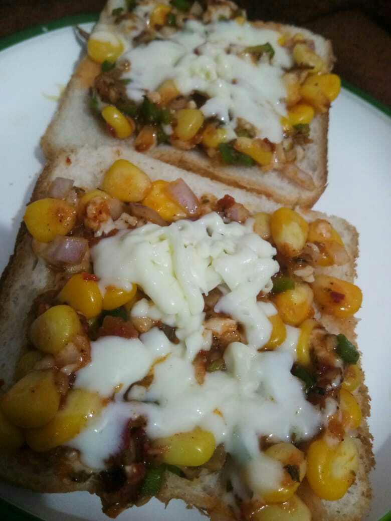 Corriander Corn Sandwich