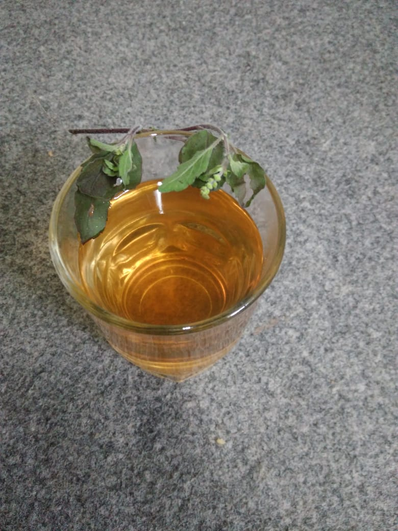 Tulasi lemon tea