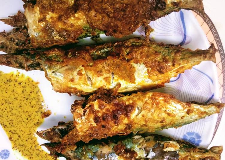 Air Fryer Mackerel Fish Fry