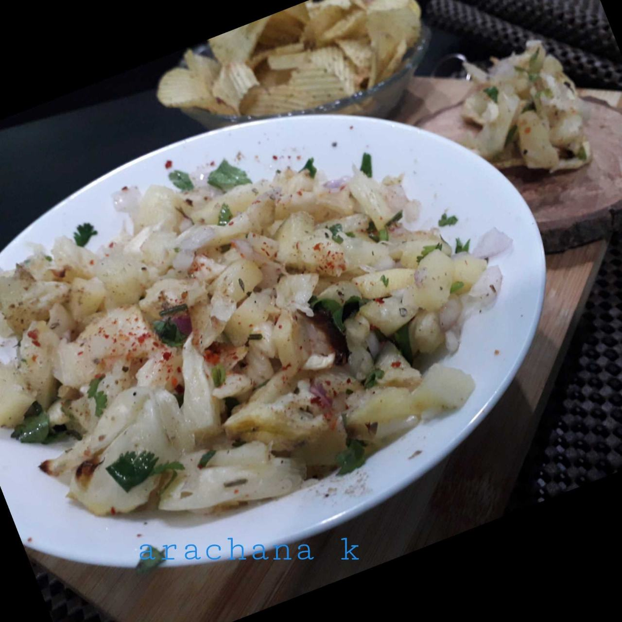 Grilled Pineapple 👉zero Oil Recipe
