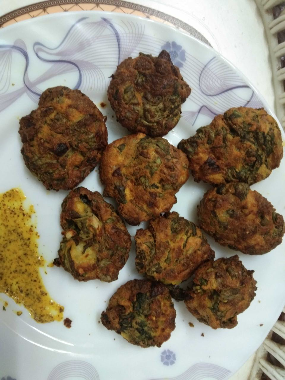 Air Fryer Spinach Fritters