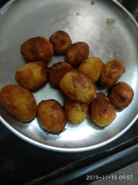 Grilled Potatoes For Snacks