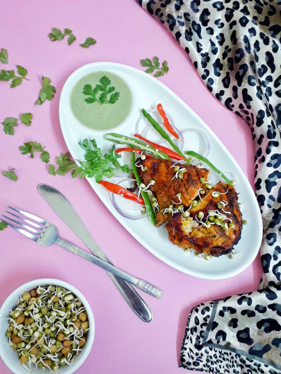 Bhut Jolokia Grilled Chicken