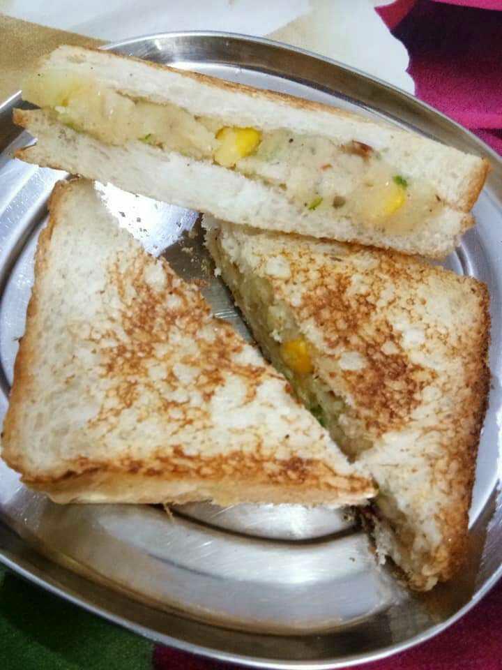 Corns Potato Sandwich