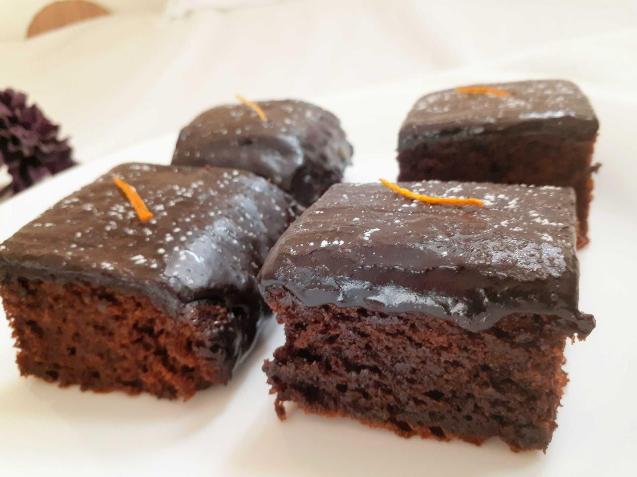 Choco Orange Brownies