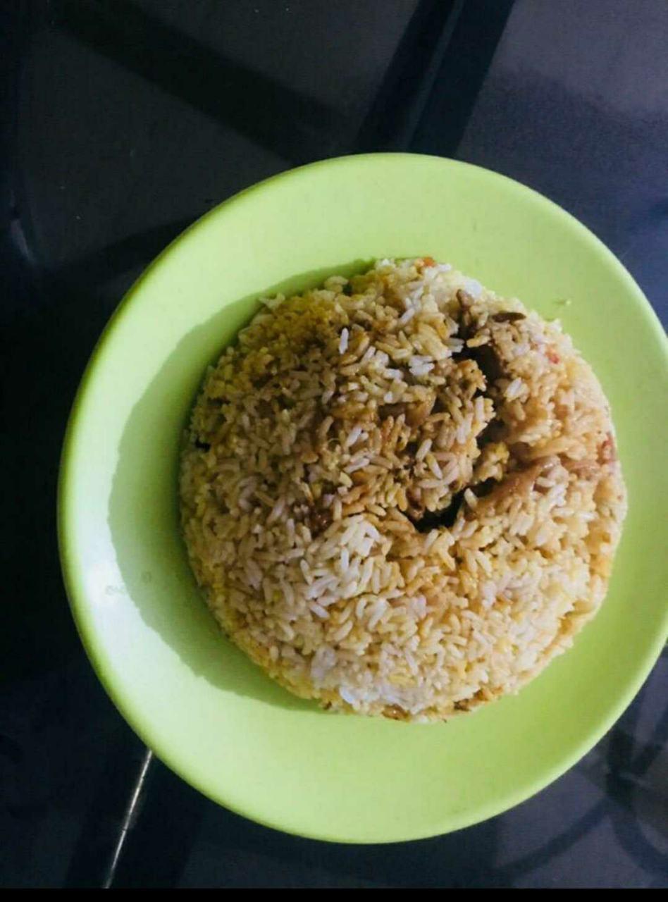 Simple Cooker Egg Biriyani