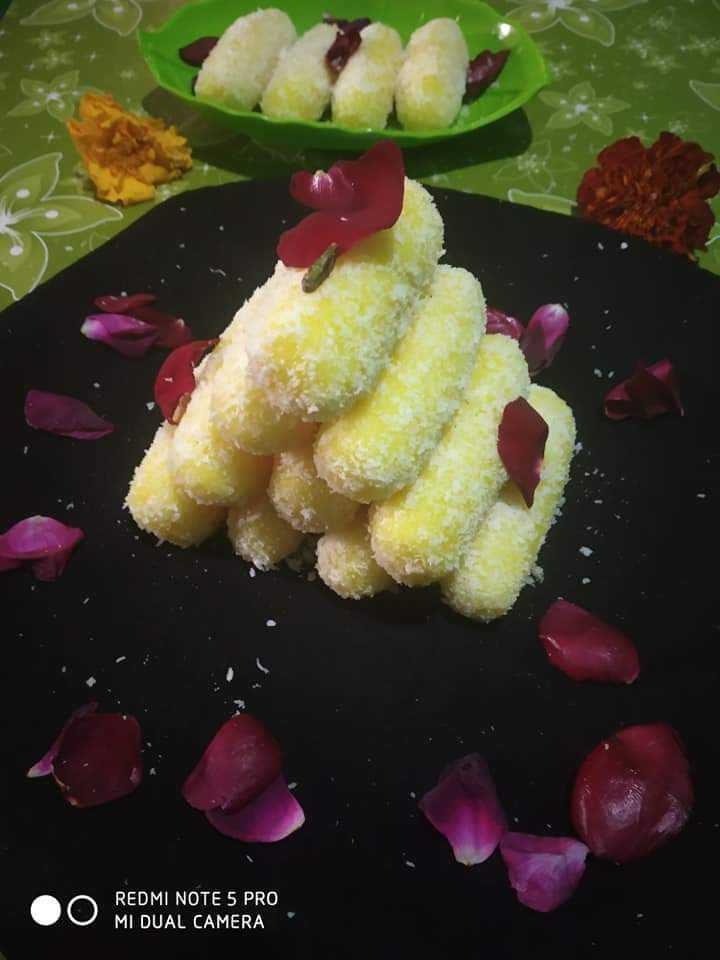 चावल के केसरिया चमचम