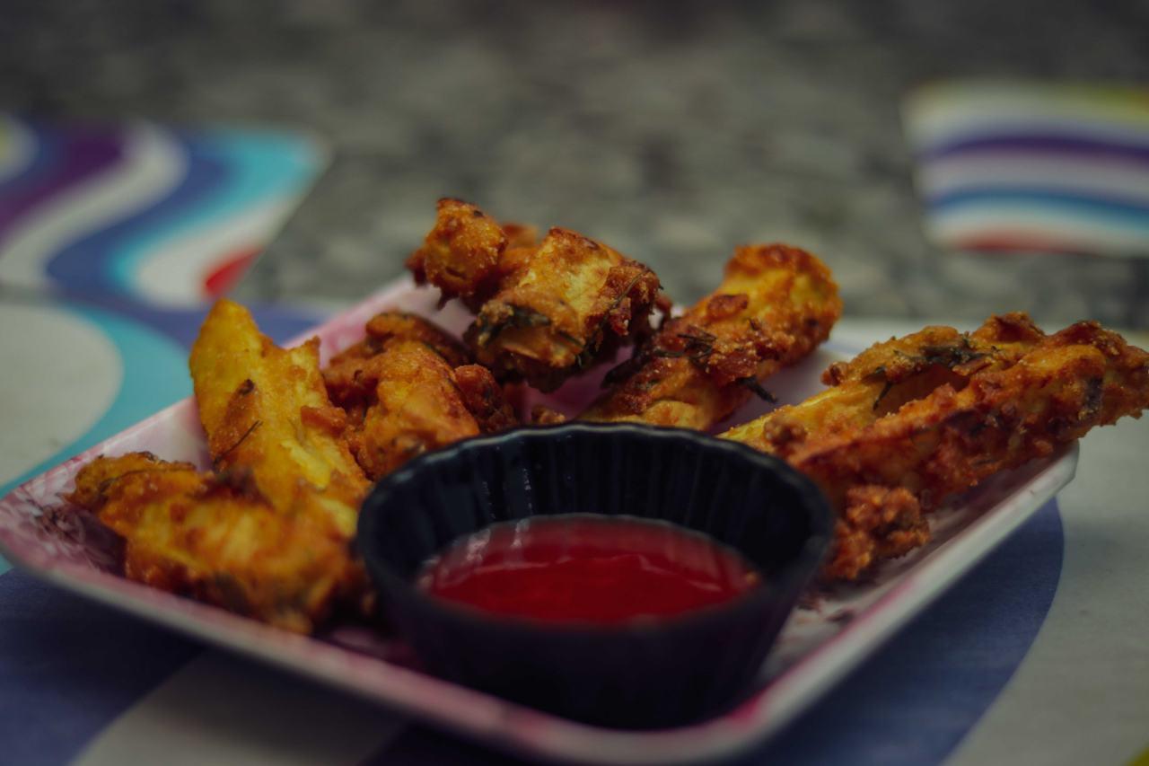 Mankochur Finger Chips (Taro Root Finger Chips)