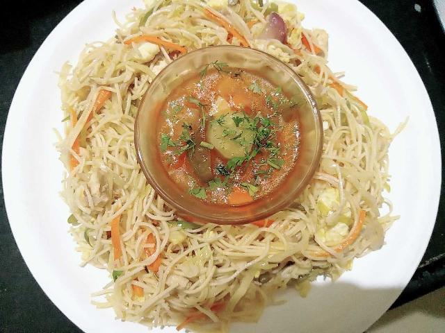 Non Veg Mixed Noodles