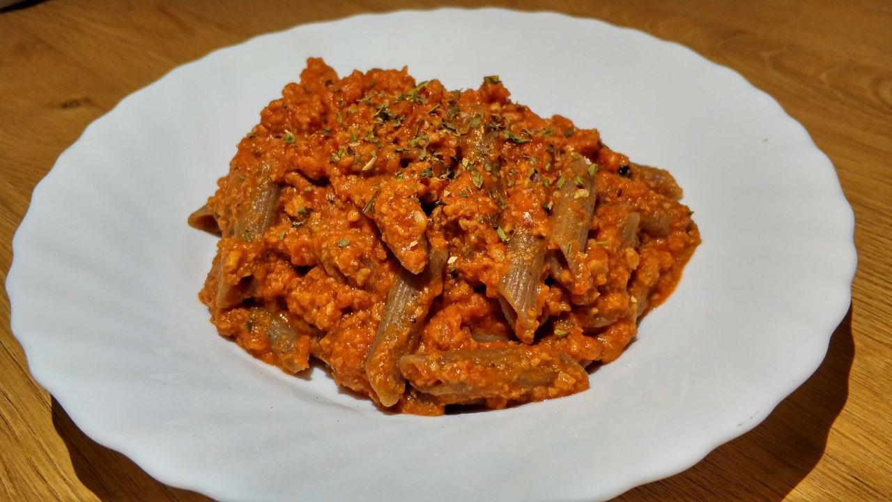Boloñesa Con Next Level Y Pasta De Sarraceno