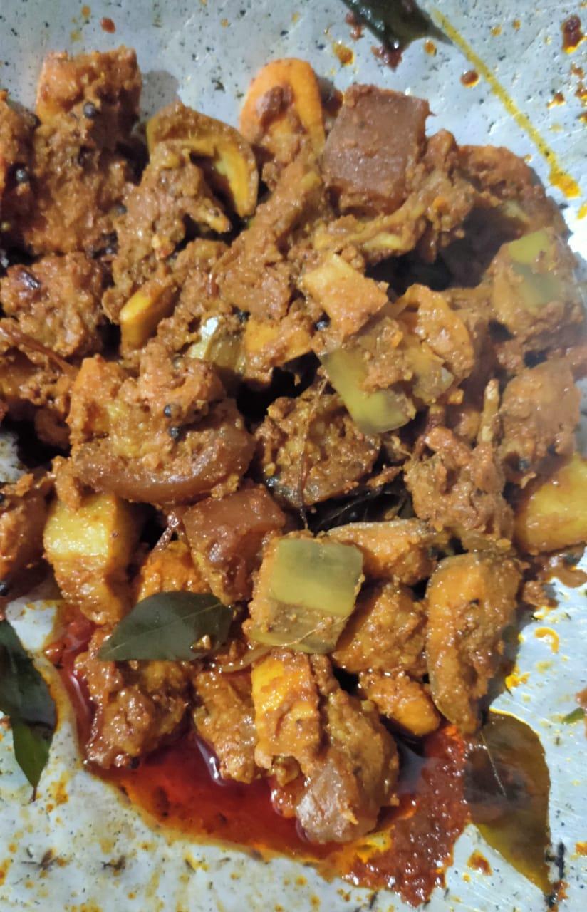 Pork with Kaaya