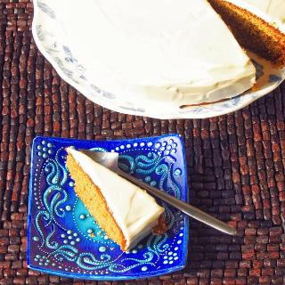 Diwali Baking: Indian Spiced Cake with Cream Cheese Frosting
