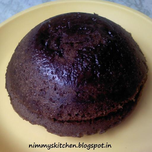 Chocolate cake in 3 minutes